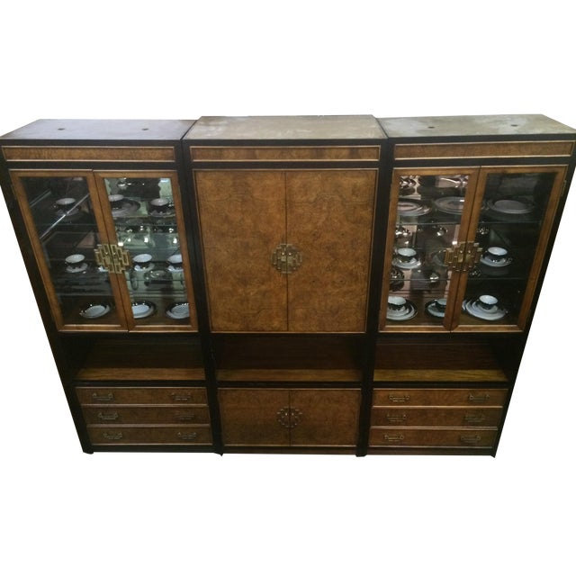 Century Asian-Style Entertainment Center Cabinet - Image 1 of 11
