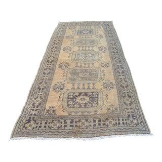Vintage Anatolian Runner Carpet - 4′7″ × 10′9″