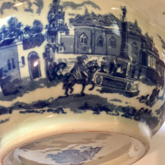 Victoria Ware Blue Town Ironstone Bowl - Image 4 of 6