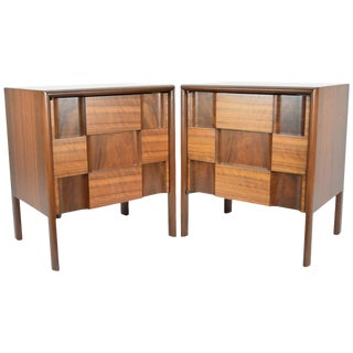 Pair of Edmond Spence Nightstands Made in Sweden