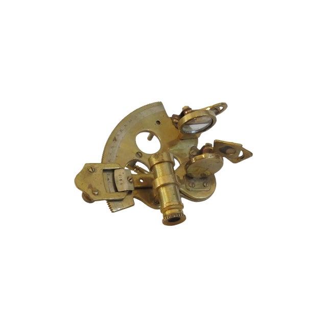 Brass Sailor's Sextant, Navigation Device - Image 1 of 9