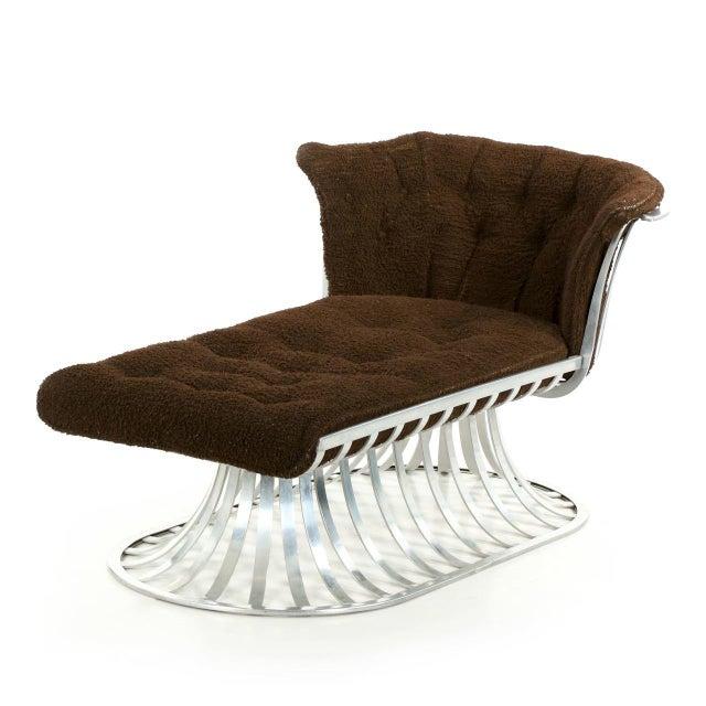 Circa 1960 Russell Woodard Mid-Century Aluminum Chaise Lounge - Image 2 of 11