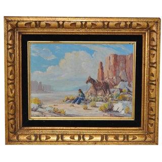 Monument Valley Desert Landscape by Louis Heinzman