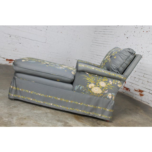 Vintage 1940's Newly Upholstered Double Armed Chaise Lounge - Image 4 of 11