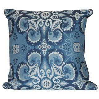 Ryan Studio Blue Paisley Pillow