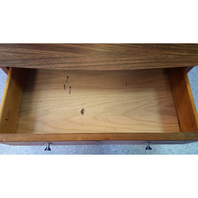 Mid-Century Lane Co. Single Drawer Side Table - Image 10 of 11