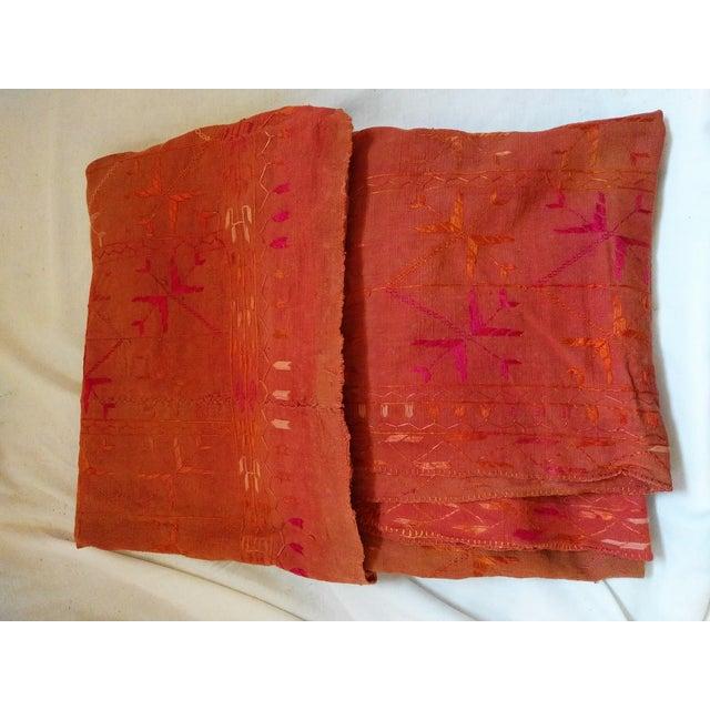 Vintage Indian Phulkari Textile - Image 2 of 4