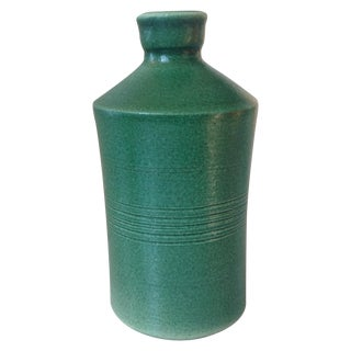 Green Studio Pottery Bottle