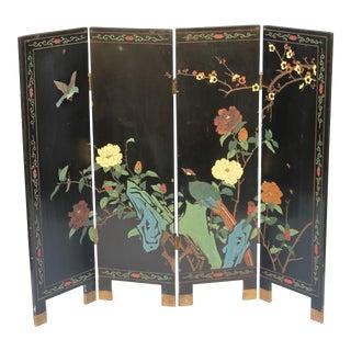 Asian Hand Made Artist Embellished Petite Screen