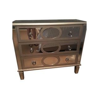 Mirrored Three Drawer Dresser