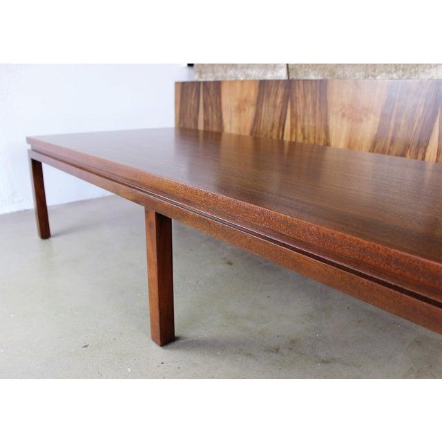 Harvey Probber Mahogany Coffee Table - Image 7 of 8