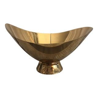 Gorham Brass Pedestal Bowl