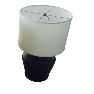 Vintage Solid Brass Large Lamp
