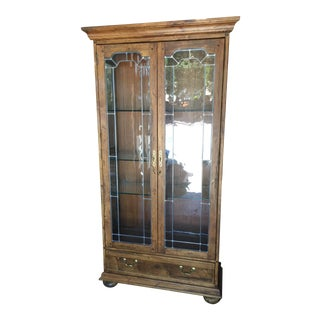 Ethan Allen Arts & Crafts Display Cabinet