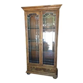 Ethan Allen Arts & Crafts Display Cabinet