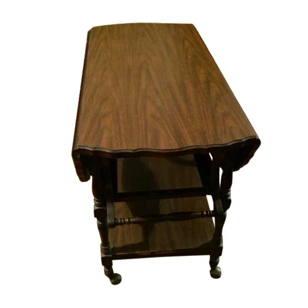 Traditional Serving Cart Table - Image 1 of 9
