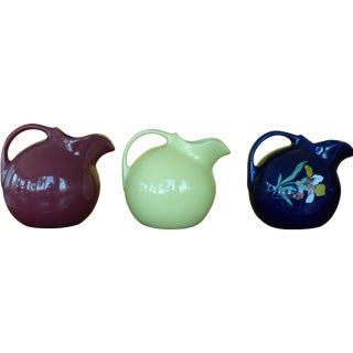 Hall China Ball Pitchers - Set of 6
