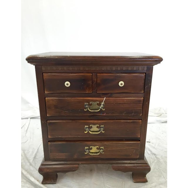 Image of Ethan Allen Chippendale Side Chest