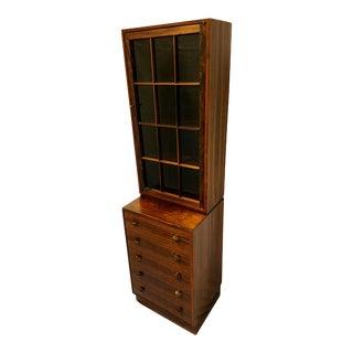 Mid-Century Rosewood Curio Cabinet