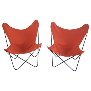 Mid-Century Modern Butterfly Chairs - A Pair