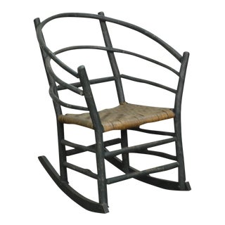Old Hickory Vintage Rustic Rocker Rocking Arm Chair