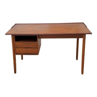 Teak Wood Danish Desk