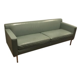 Dwr Theater Leather Sofa