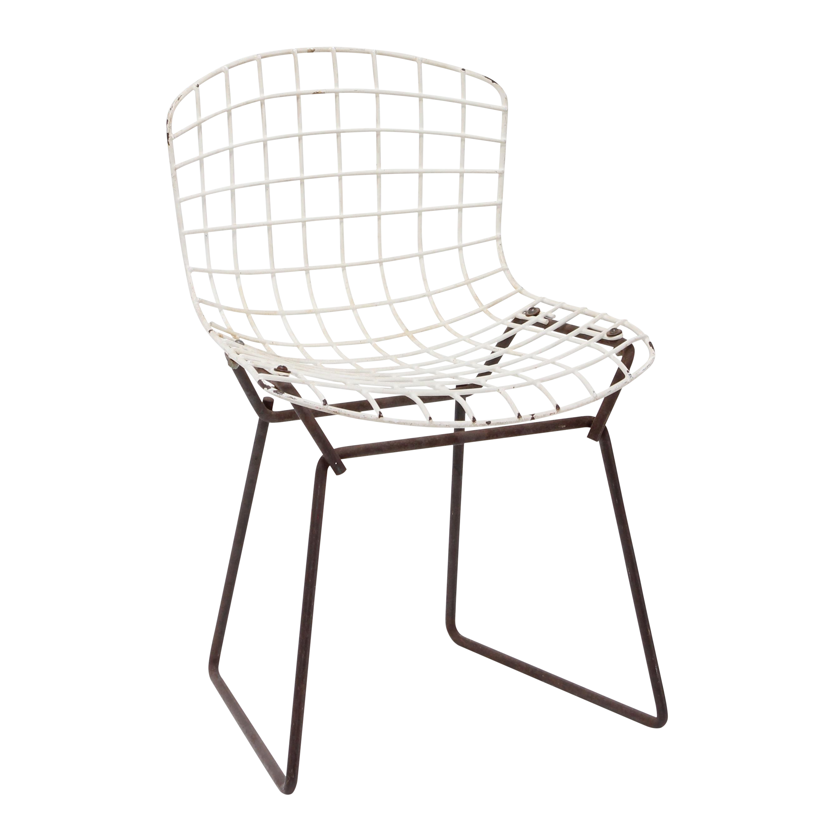 Knoll Bertoia Child Size Chair Black/White   Image 1 Of 11