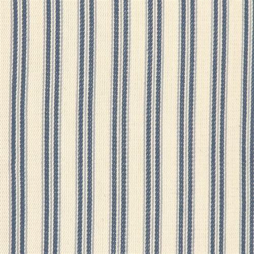 Image of Pillow Decor - Catalina Ticking Blue 16x24 Pillow