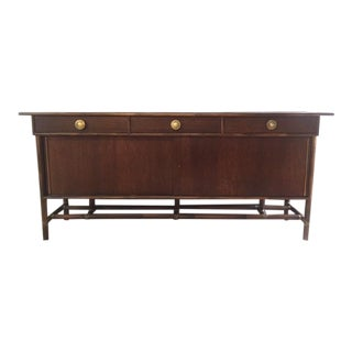Vintage McGuire Bamboo and Oak Sideboard