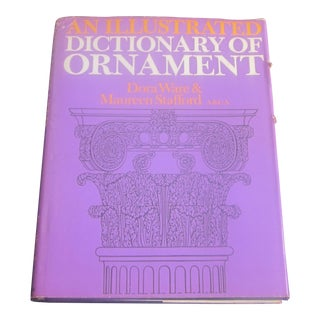 "1970's ''An Illustrated Dictionary of Ornament"" Book"