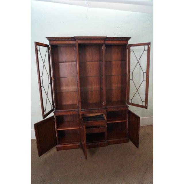 Kindel Mahogany Chippendale Style China Cabinet - Image 2 of 10