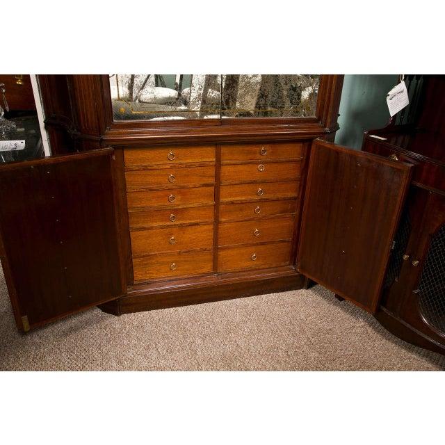 Art Deco Style Mahogany Bar Cabinet Chairish