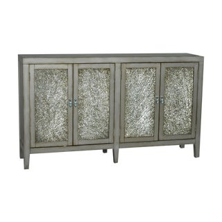Crackle Glass Sideboard