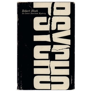Psycho by Robert Bloch First Edition Hardcover Book