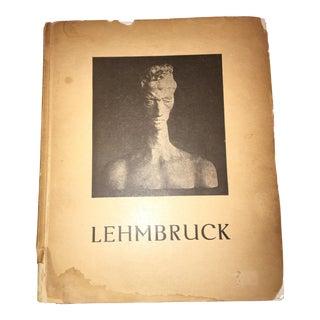 1936 Lehmbruck Catalogue August Hoff