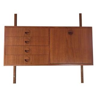 Hansen & Guldborg Adjustable Teak Wall Cabinet