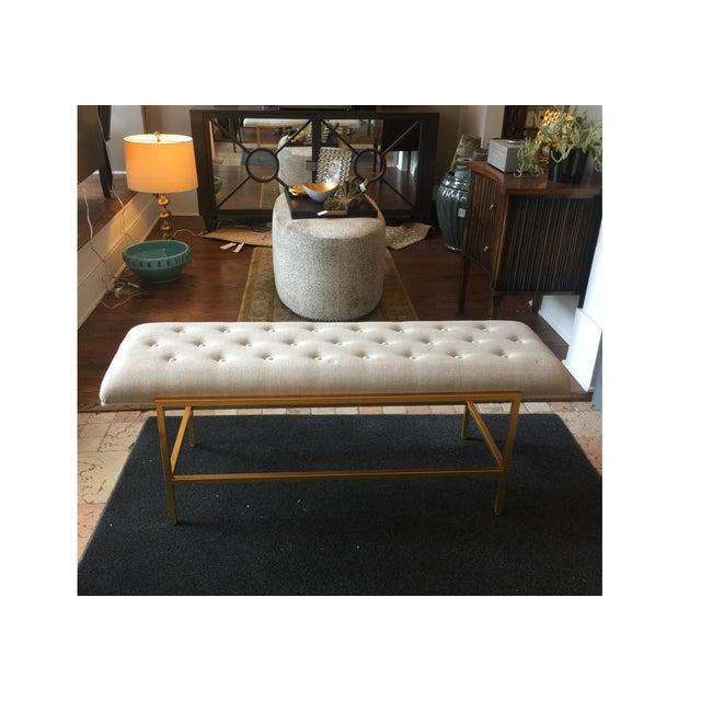 Century Furniture Modern Leg Bench - Image 2 of 5