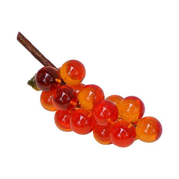 Image of Vintage Bunch of Lucite Grapes