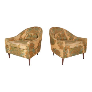 Selig Mid-Century Modern Lounge Chairs - A Pair