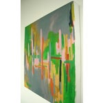Image of Kelly Johnston Vivid Abstract Painting