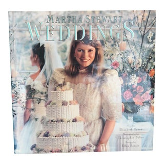 Vintage Martha Stewart Weddings Book, First Edition Pub. 1987