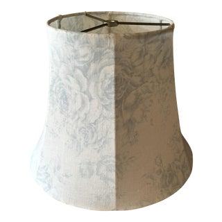 Shabby Chic Linen Lamp Shade