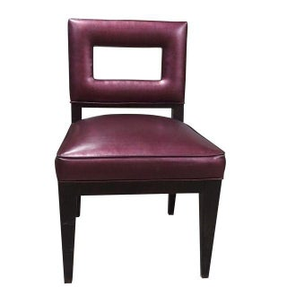 Eggplant Iridescent Dining Chair