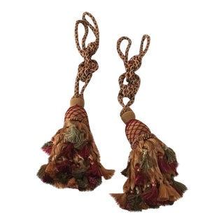 French Style Large Tassels - Set of 4