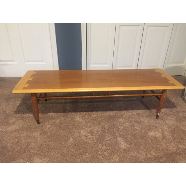 Lane Mid-Century Modern Wooden Coffee Table