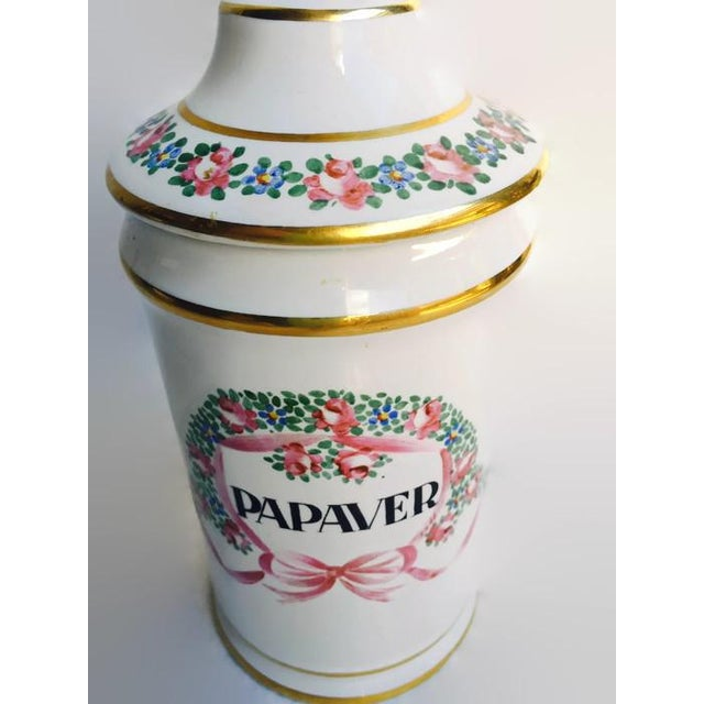 Vintage Apothecary Ceramic Opium Canister/Jar - Image 5 of 7