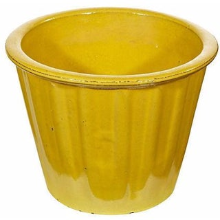 Yellow Terracotta Pot