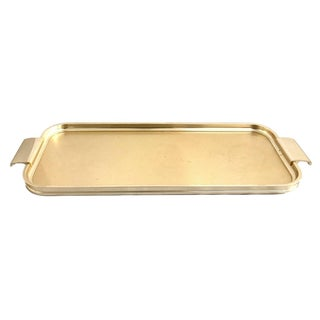 Mid-Century Gold Catchall Tray