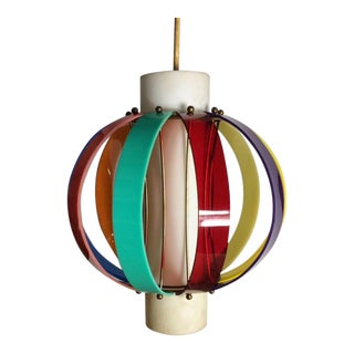 Higgins Multi Colored Light Fixture